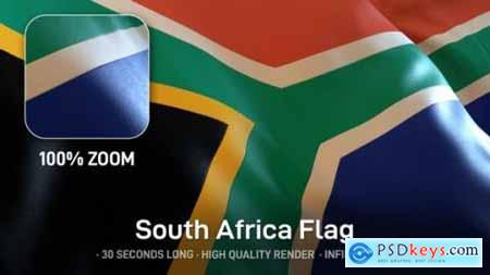 Videohive South Africa Flag 24593431