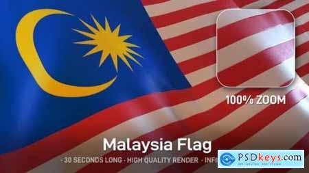 Videohive Malaysia Flag 24593421