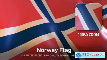 Videohive Norway Flag 24593428
