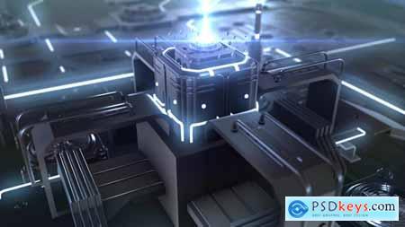 Videohive Cyber Tech Core Logo 24583760