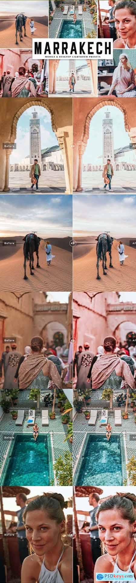 Marrakech Mobile & Desktop Lightroom Presets