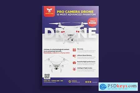 Drone Product Showcase Flyer