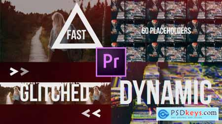 Videohive Fast Glitch Slideshow Dynamic Opener 22061425