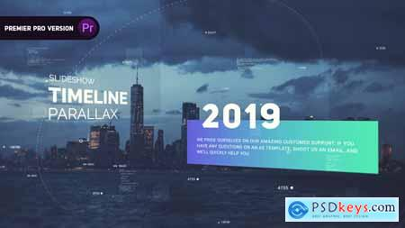 Videohive Timeline Parallax 24579173