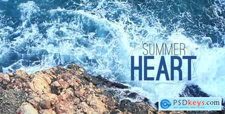 Videohive Summer Heart 4758140