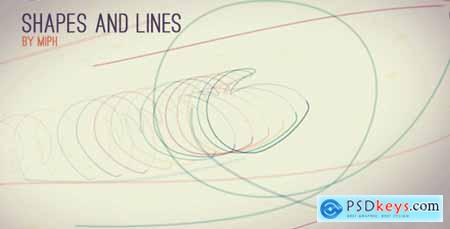Videohive Shapes and Lines 6512521