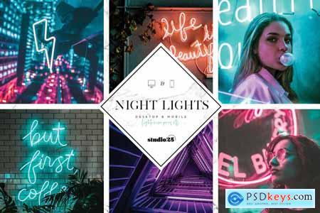 3 Neon Lights Presets 4057447