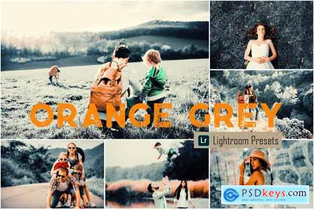 Orange Grey LR Mobile & ACR Presets 4093262