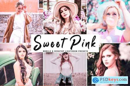 Sweet Pink Pro Lightroom Presets 4107214