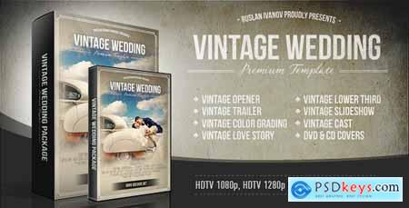 Videohive Vintage Wedding Package 4891310