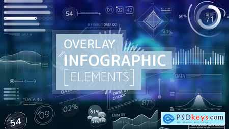 Videohive Overlay Infographic Elements 24566996
