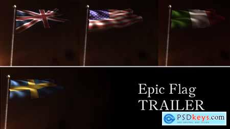 VideoHive Epic Flag Trailer 3007180