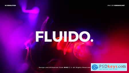 VideoHive Particles Titles 4K - Fluido 23873654