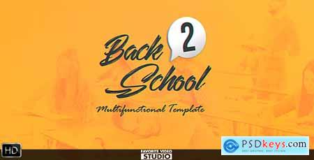 VideoHive Back 2 School Broadcast Pack 20496690