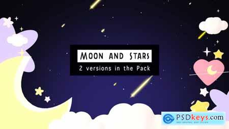 Videohive Moon And Stars 24622807