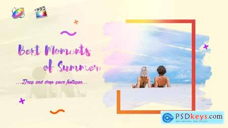 Videohive Summer Slideshow Bright Opener 24352195