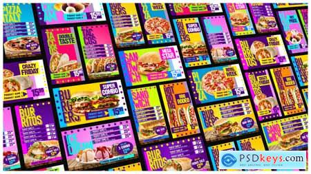 Videohive Food Menu Restaurant Promotion 24640887