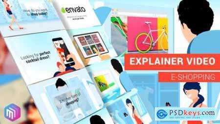 Videohive Explainer Video E-Commerce, APP, Online Services Version 21863719