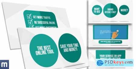 Videohive Solution Template for Service or Product Present 8980663