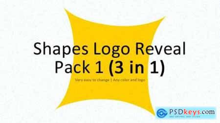Videohive Shapes Logo Reveal Pack 1 4720968