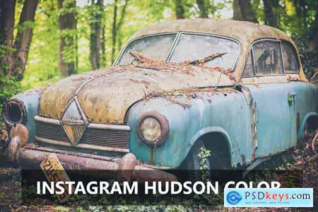 Instagram Hudson Color - Ps Action