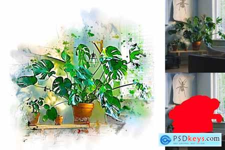 Painting Photoshop Action 4095053