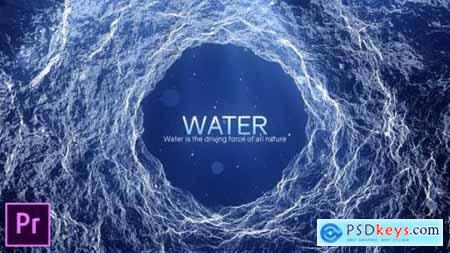 Videohive Water Inspirational Titles Premiere Pro 24601830