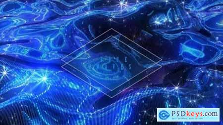Videohive Blue Waves 24624643