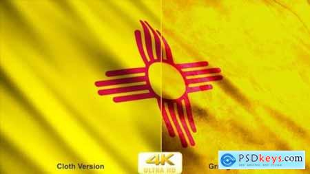 Videohive New Mexico State Flags 24625172