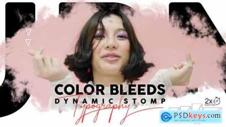 Videohive Color Bleeds Dynamic Stomp Typography 24335901
