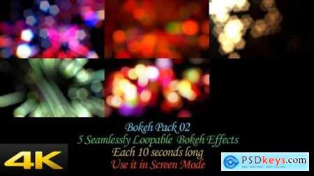 Videohive Bokeh Effects Pack V2 24624381