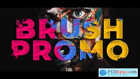 VideoHive Colorful Brush Promo 2413776