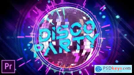 Videohive Disco Party Opener Premiere Pro 24601844
