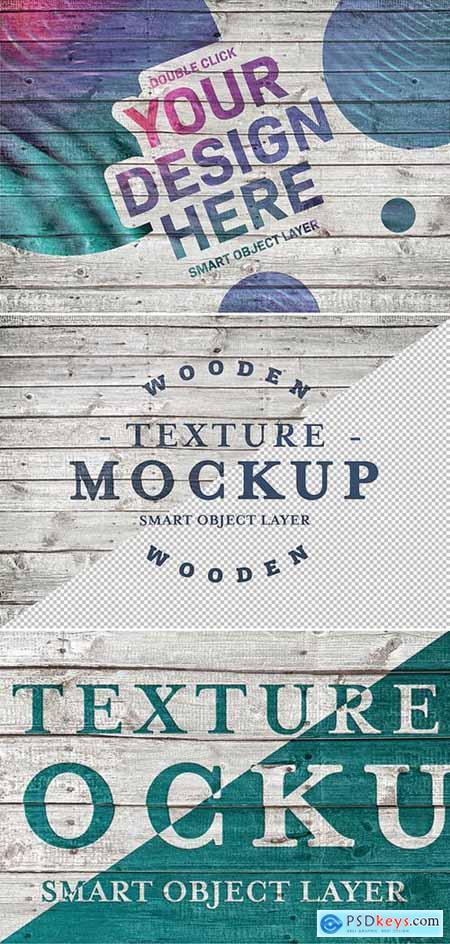 Wood Planks Texture Mockup 286738589