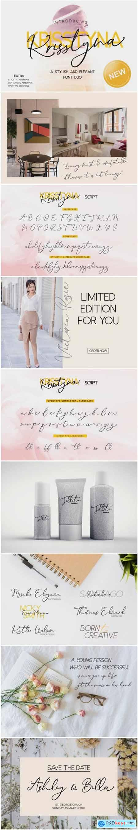 Krisstyna Duo Font
