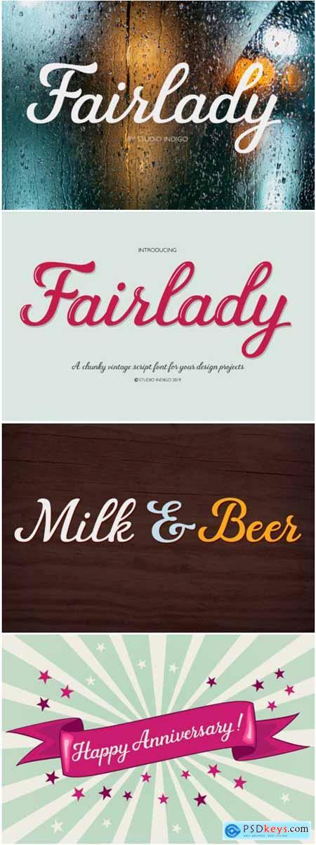 Fairlady Font