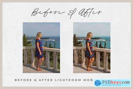 Cali Blogger Lightroom MOBILE Preset 4043898
