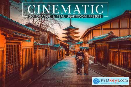 Cinematic Orange and Teal LR Presets 4100529