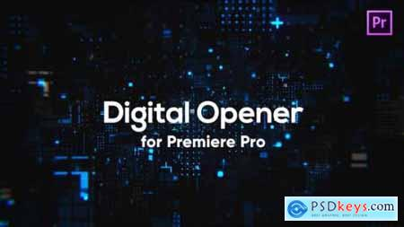 Videohive Digital Technology Opener for Premiere Pro 24653883