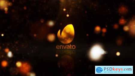 Videohive Gold Reflective Logo Reveal 24644502