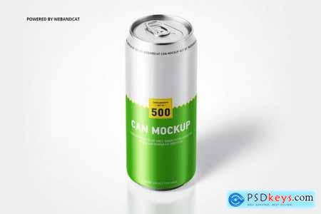 500ml Can Mock-up
