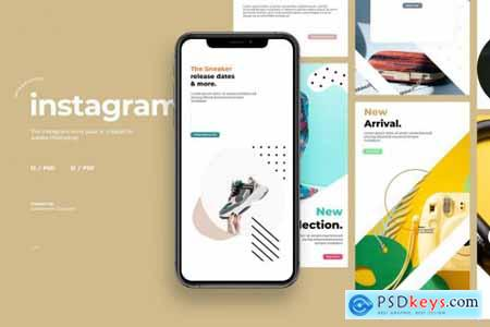 12 Promo Instagram Story Template V2