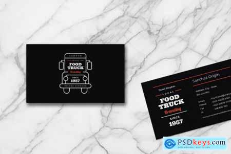Business Card food truck