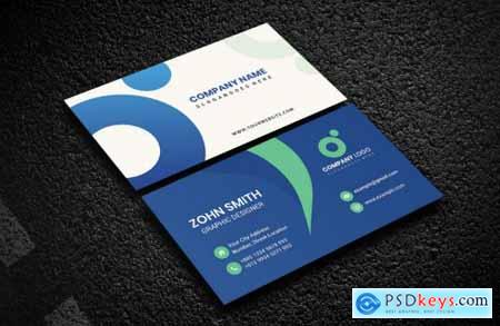 Corporate Business Card Template V-2