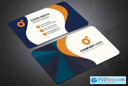 Corporate Business Card Template V-3