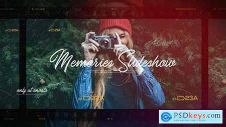 Videohive Memories Slideshow Photo Album Family and Friends Travel and Journey 21375276