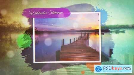 VideoHive Watercolor Slideshow 21758949