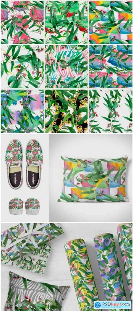 Eucalyptus Branch Watercolor Png 1777809