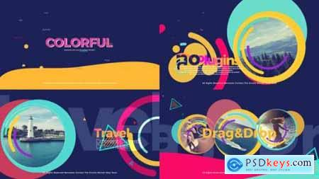 Videohive Colorful Opener 22388556