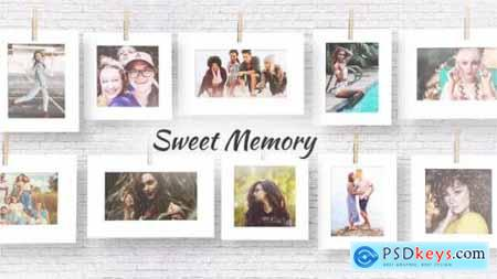 Videohive Sweet memories 24663979